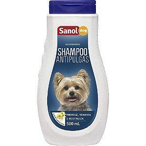 SANOL Shampoo Antipulgas 500ML