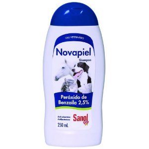 SANOL Shampoo Novapiel PERÓXIDO BENZOILA 2.5% 250ML