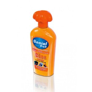 SHAMPOO GENIAL PET ANT-PULGAS 500 ML