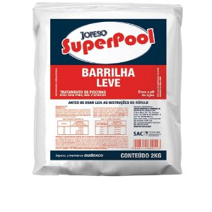 BARRILHA LEVE SUPERPOOL 2KG
