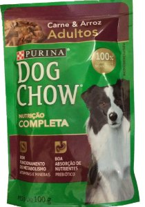 DOG CHOW  Adulto Carne Arroz 100g