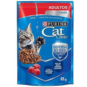 CAT CHOW SACHE Adultos Carne ao Molho 85g