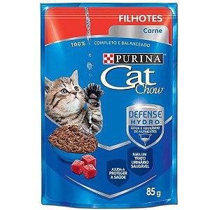 CAT CHOW  SACHE Filhotes Carne ao Molho 85g