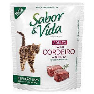 SABOR E VIDA SACHE GATO CORDEIRO 85G