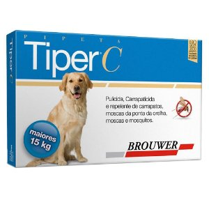 TIPER C POUR-ON 4 0 ML 15KG