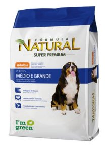 FORMULA NATURAL ADULTO PORT MEDIO GRANDE 15KG