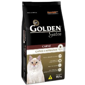 Golden Gato Carne Castrados  10 KG