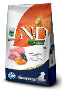 ND PUMPKIN CANINE CORDEIRO  ADULTO MEDIUM 10,1KG