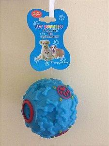 Brinquedo Bola Petisco Com Apito- P