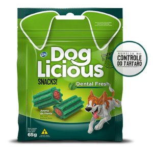DOG LICIOUS DENTAL FRESH 65G