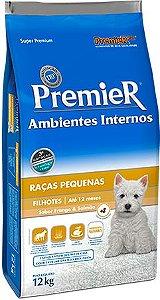 PREMIER AMBIENTE INTERNO FILHOTES 12 KG