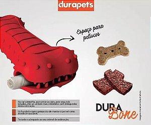 Brinquedo Cães Durabone Borracha Ossinho Petisco Pequeno