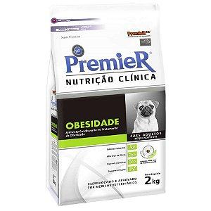 PREMIER NUTRIÇÃO CLINICA CAES OBESIDADE  2 KG