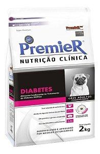 PREMIER NUTRIÇÃO CLINICA CAES DIABETES PEQ. PORTE 2KG