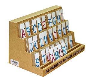 Alfabeto Móvel Degrau - 130 peças