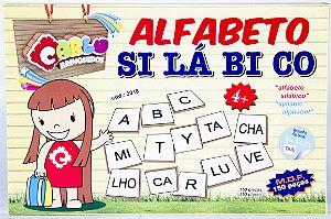 Alfabeto Silábico - 150 peças