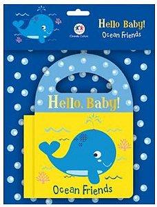 Livro de Banho em Inglês - Ocean Friends