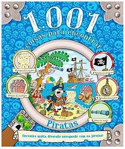 Livro 1001 Coisas para Encontrar - Piratas