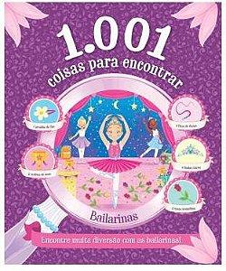 Livro 1001 Coisas para Encontrar - Bailarinas