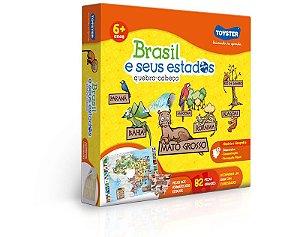 Quebra Cabeça Educativo Brasil e Seus Estados