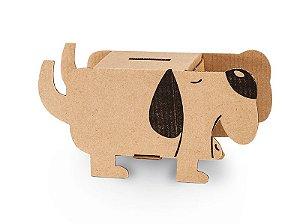 Cofre de papelão - Cão