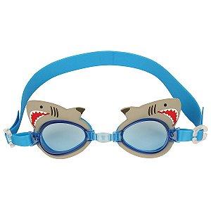 Óculos de natação divertido - TUBARÃO