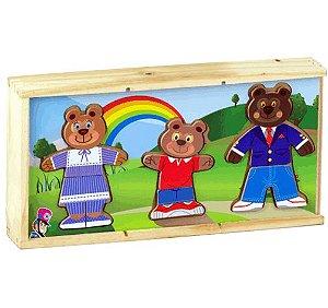 Família Urso Kids - Caixinha Troca de Roupas