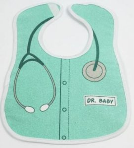Babador impermeável - Dr Baby