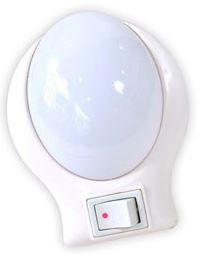Luminária de parede - Oval - Luz BRANCA