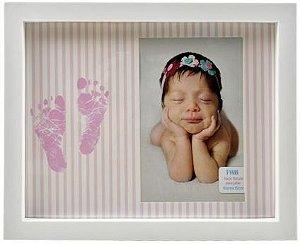 Porta Retrato Pezinho para foto 10 x 15 - ROSA