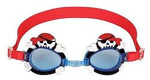 Óculos de natação divertido - PIRATA