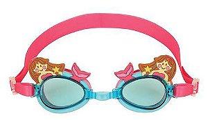 Óculos de natação divertido - SEREIA