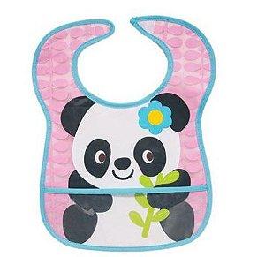 Babador Impermeável com bolso - Panda