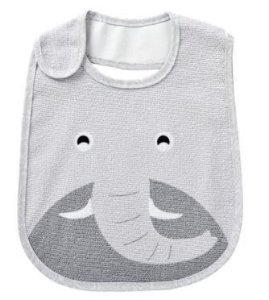 Babador impermeável Carinhas - Elefante