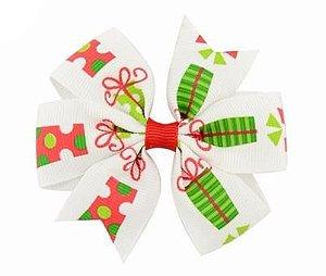 Laço - Natal Branco Presentes