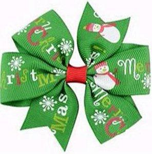 Laço - Natal Verde Merry Chirstmas