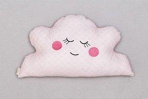 Almofada Luminosa - Nuvem Rosa