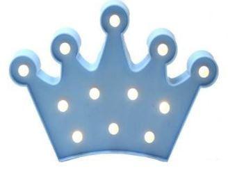 Luminária - Coroa AZUL