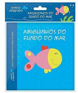 Livro de Banho - Amiguinhos do Fundo do Mar