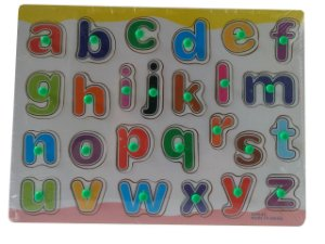 Quebra Cabeça em Madeira - Alfabeto