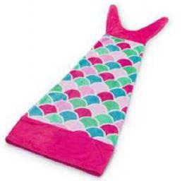 Manta Infantil Saco de Dormir - Sereia Pink
