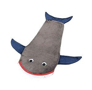 Manta Infantil Saco de Dormir - Tubarão