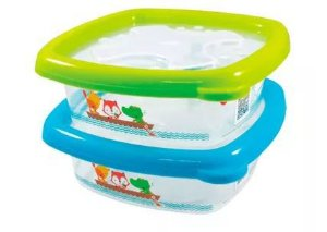 Conjunto com 2 potes de 480ml - FISHER PRICE