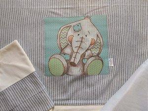 Jogo de Lençol 3 peças - Padrão Americano - Elefante