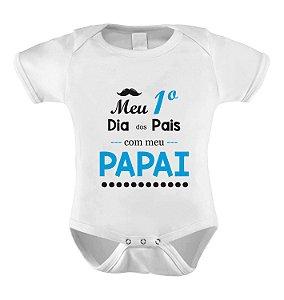 Body  - Meu Primeiro Dia dos Pais com Meu Papai - AZUL II