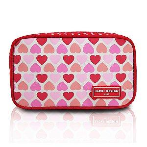 Necessaire - Coração Vermelho SAPEKA - Vermelho
