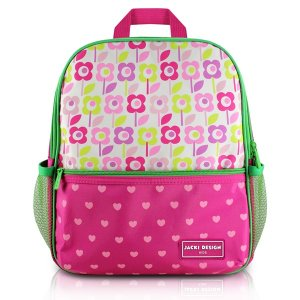 Mochila Escolar - Flor Pink SAPEKA - Pink