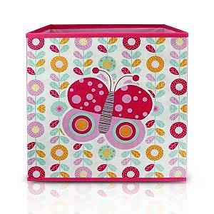 Caixa Organizadora Infantil PEQUENINOS - Rosa