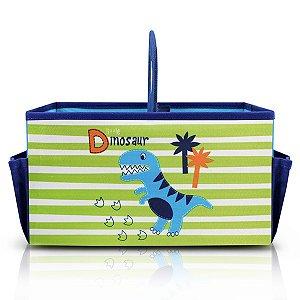 Caixa Organizadora Infantil c/ Alça PEQUENINOS - Azul