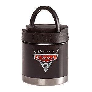 Frasco Termico Inox Carros com Alça - 300ml